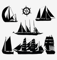 ships and rudder vector image