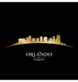 Orlando Florida city skyline silhouette vector image vector image