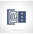 Ammeter glyph style icon vector image