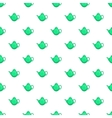 Kettle pattern cartoon style vector image