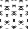 Spider Silhouette on white background vector image