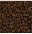 coffee bean seamless vector image vector image