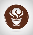 Coffee logo design template vector image
