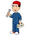 Serviceman vector image