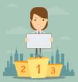 best business presentation vector image