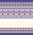 seamless doodle zentangle pattern vector image