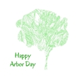 tree Arbor Day vector image