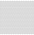 thin wavy lines seamless pattern vector image