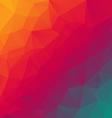 rainbow spectrum red blue polygonal triangular vector image