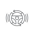 autonomous auto autopilot gyropilot automatic vector image