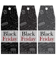 Birk Price lists Black Friday Clearance Sale vector image