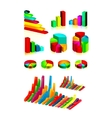 graphic design elements vector image