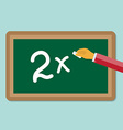 study board vector image