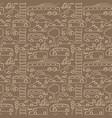 seamless transport pattern vector image