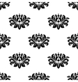Dainty floral damask style fabric pattern vector image vector image