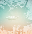 Pink and Teal Abstract Background vector image