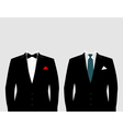 Suit2 vector image vector image