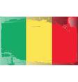 chad national flag vector image