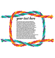reef-knot vector image