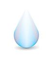 water droplet vector image