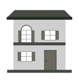 small house icon vector image