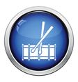 Drum toy icon vector image