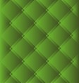 Green Checked Fabric Tablecloth Background vector image