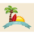 summer day vector image