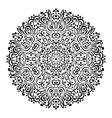 Abstract Flower Mandala Decorative ethnic element vector image