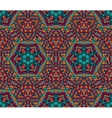 Abstract festive colorful grunge ethnic pattern vector image