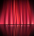 Abstract curtain baclground vector image vector image