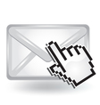 Open Mail vector image vector image