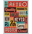 Retro Vintage Background vector image