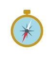 compass navigation instrument antique icon vector image