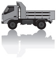 medium trucks vector image vector image
