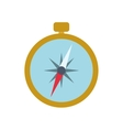 compass navigation instrument antique icon vector image