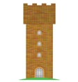 Old Brick Tower vector image
