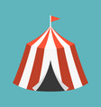 retro circus tent vector image