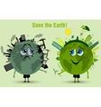 Saving the Earth ecology concept vector image