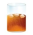 Cold beverage vector image