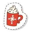 Christmas icon symbols vector image