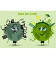 Saving the Earth ecology concept vector image