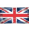 united kingdom national flag vector image