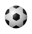football soccer ball icon image vector image