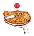 Italian Cuisine Concept vector image