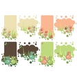 set of Easter tags vector image vector image