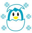 Egg Penguin vector image