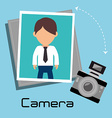 Photography and camera vector image