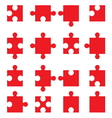 Puzzle set3 vector image