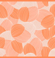 seamless abstract hand-drawn pattern waves vector image